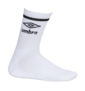 UMBRO Core Tennis Socks 3 pk Hvit 35-39 Gode tennissokker