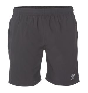 UMBRO Core Woven Shorts jr Sort 152 Fritidsshorts i lårlang lengde